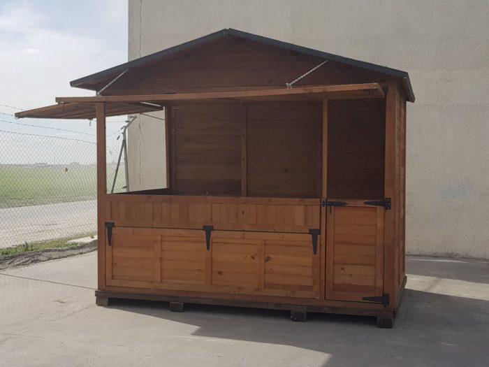 alquiler casetas de madera para mercadillos